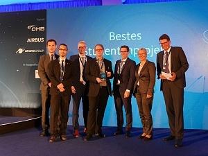 ZARM Wissenschaftler gewinnen Nachwuchspreis MoreSpace des Weser-Kuriers