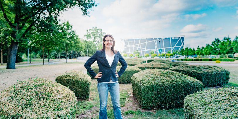 Halbportrait von Elisa Manfreda