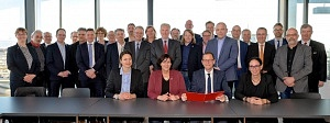 Erste Sitzung des Runden Tisches Luft- und Raumfahrt Bremen