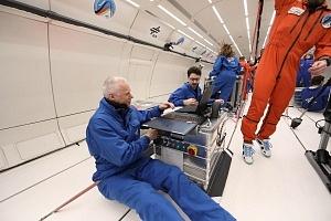 Die Trennung von Gas und Flüssigkeit – im Weltraum eine Herausforderung