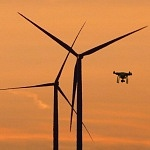 A robot drone for the wind energy sector