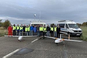 Seenotretter testen über der Ostsee erfolgreich unbemanntes Luftfahrtsystem für Seenotfälle