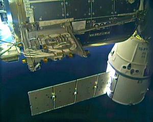 Bartolomeo dockt erfolgreich an die ISS an