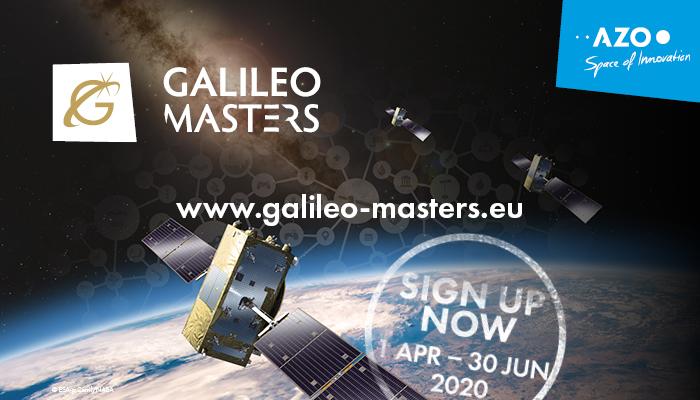 Flyer Galileo Masters: ein Satellit im Weltall