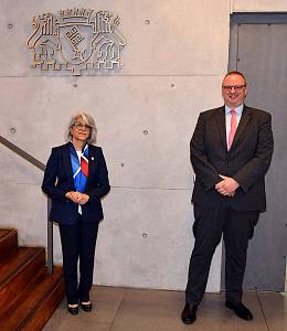 Botschafterin der Vereinigten Arabischen Emirate zum Antrittsbesuch in der Bremer Landesvertretung in Berlin