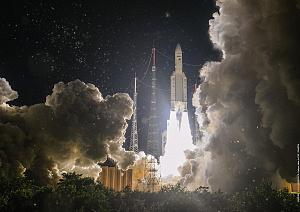 Dritter erfolgreicher Start der Ariane 5 im Jahr 2020