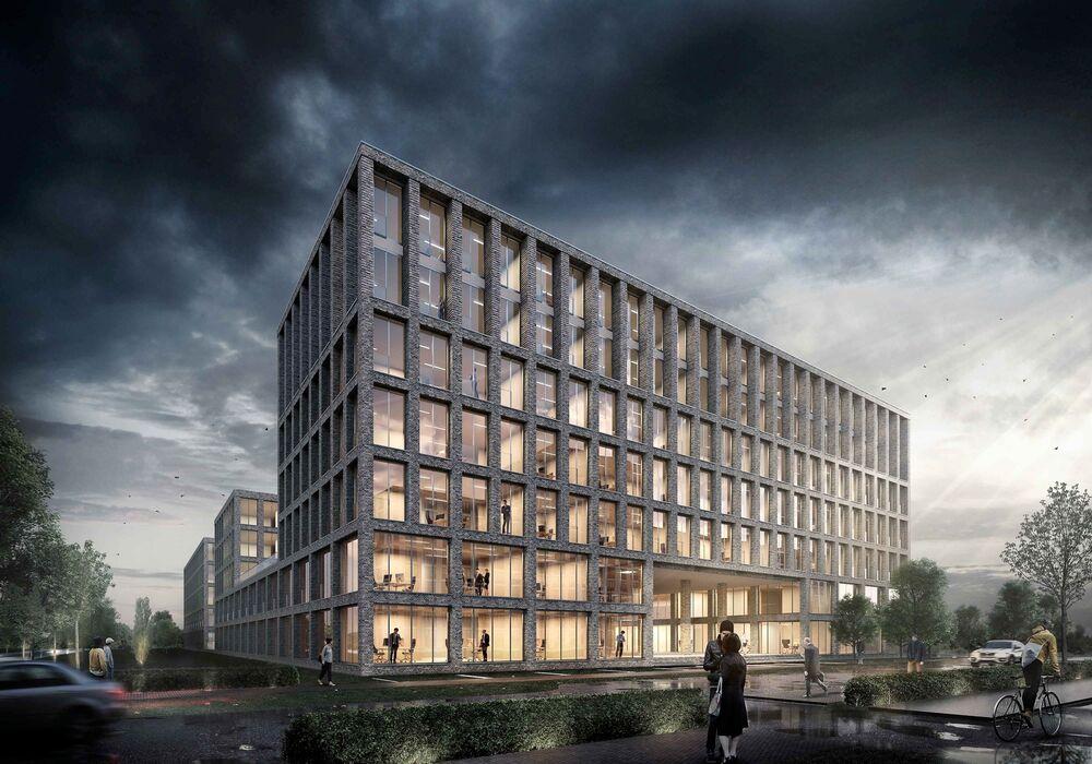Gebäude der Digital Hub Industry in Bremen