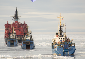 Ice-cold savings potential: Safely crossing the polar regions with satellite data
