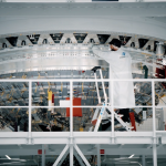 Assembly of the first ariane 6 upper stage
