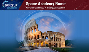 Raumfahrt-Unternehmer nehmen virtuell an der Space Academy Rome 2020 teil