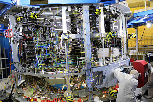 Service modules being built by Airbus Bremen