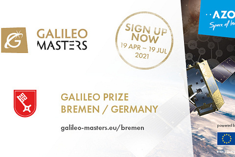 Galileo for EU Next Generation – Submissions for Galileo Masters 2021 Open 19 April