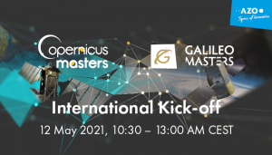 12 May Joint Virtual Kick-off: Galileo and Copernicus Masters