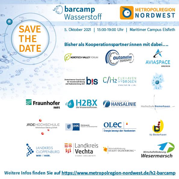 Barcamp Wasserstoff - das verbindende Element
