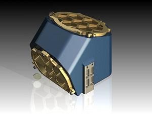 Ultrakompaktes, hochleistungsfähiges optisches Freiform-Teleskop für Aufnahmen der thermischen Infrarotstrahlung