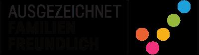 Logo: Ausgezeichnet Familienfreundlich