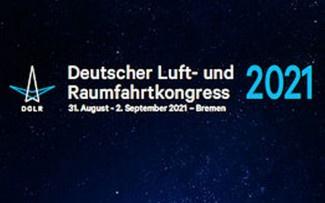 Deutscher Luft- und Raumfahrtkongress 31. August bis 2. September 2021 in Bremen